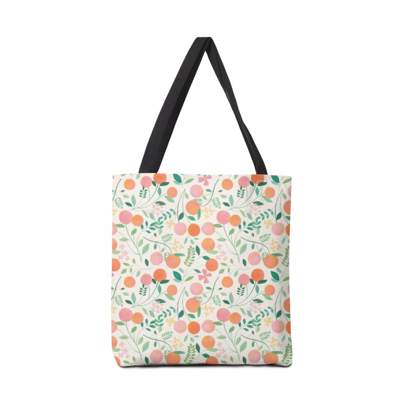 Vanilla Peaches Accessories Tote Bag Bag by carlywatts's Shop