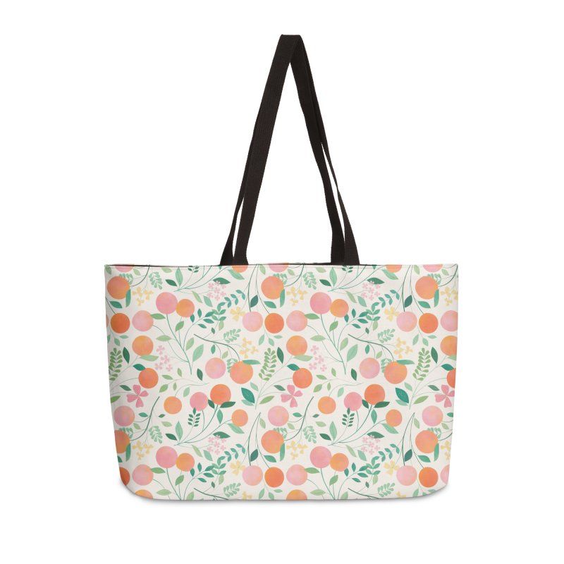 Vanilla Peaches Accessories Weekender Bag Bag by carlywatts's Shop