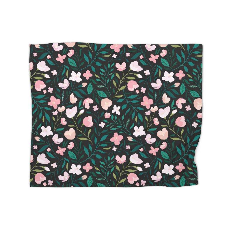 Wild Jasmine Home Fleece Blanket Blanket by carlywatts's Shop