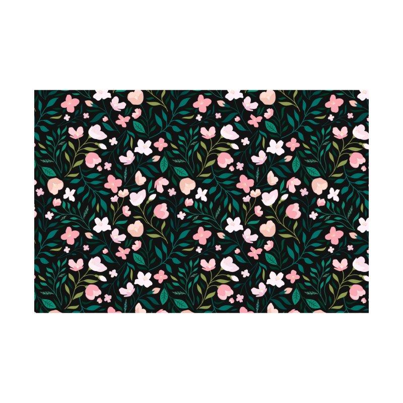 Wild Jasmine Home Blanket by carlywatts's Shop