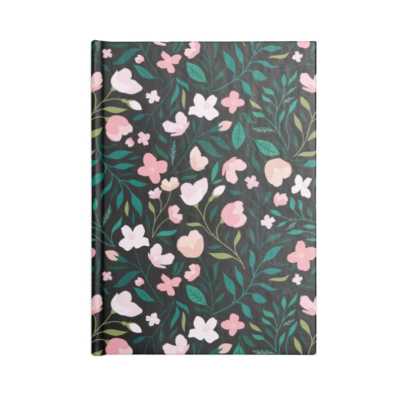 Wild Jasmine Accessories Blank Journal Notebook by carlywatts's Shop