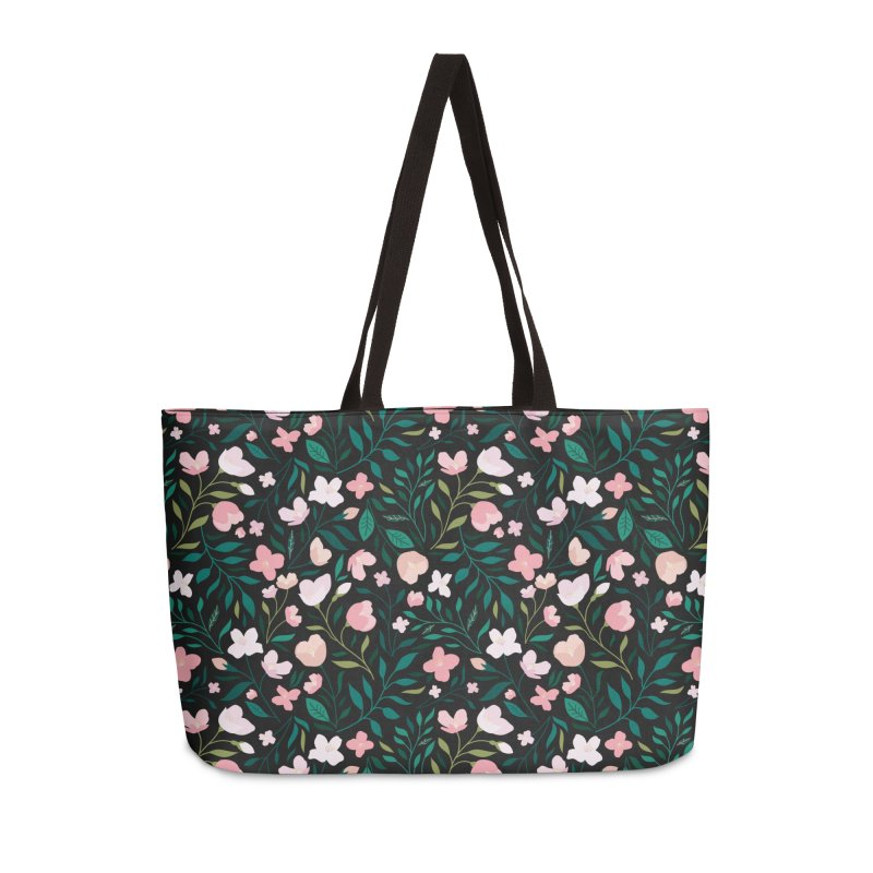 Wild Jasmine Accessories Weekender Bag Bag by carlywatts's Shop