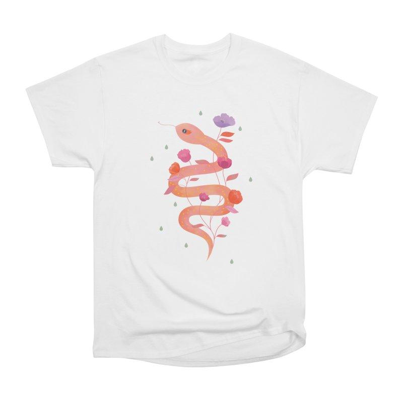 Sun Serpent Men's Heavyweight T-Shirt by carlywatts's Shop