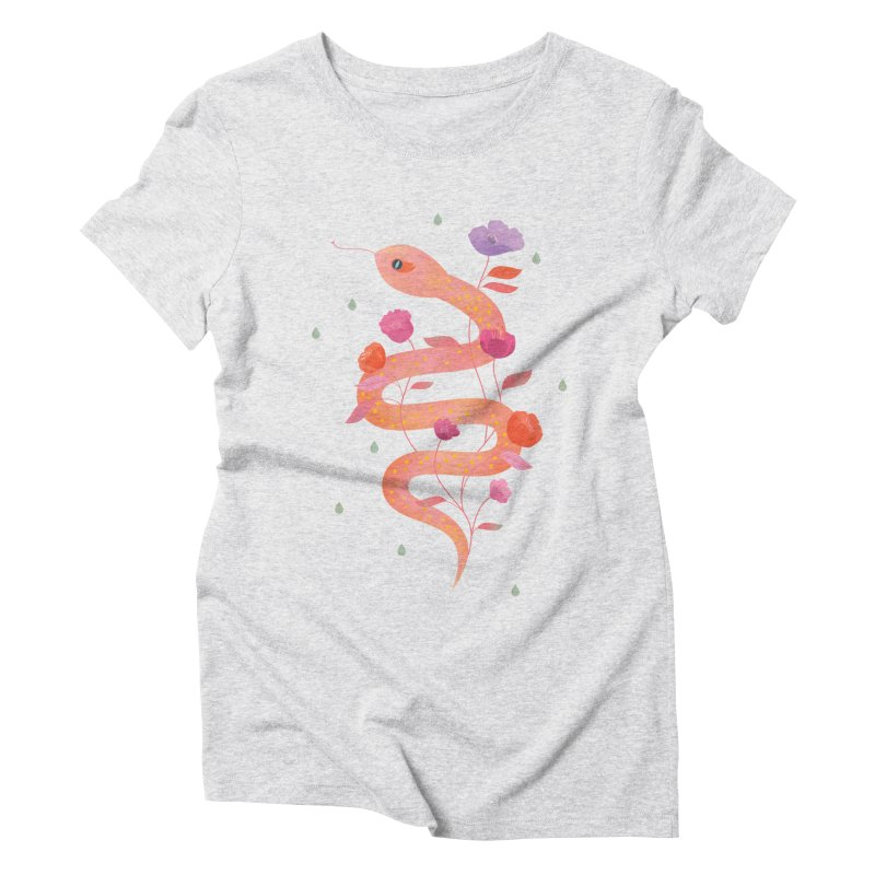 Sun Serpent Women's Triblend T-Shirt by carlywatts's Shop