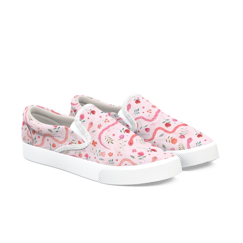 Sugar Serpents Women's Slip-On Shoes by carlywatts's Shop