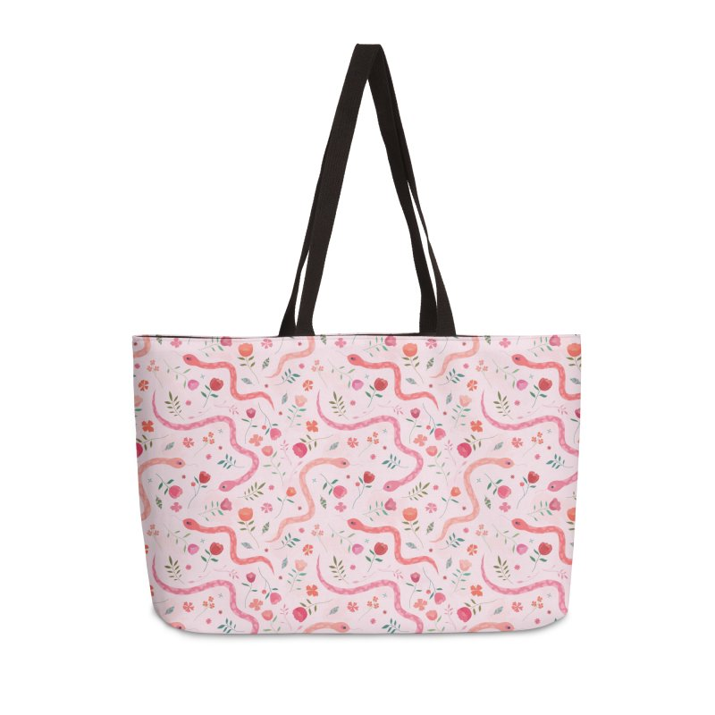 Sugar Serpents Accessories Weekender Bag Bag by carlywatts's Shop