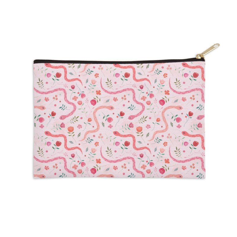 Sugar Serpents Accessories Zip Pouch by carlywatts's Shop