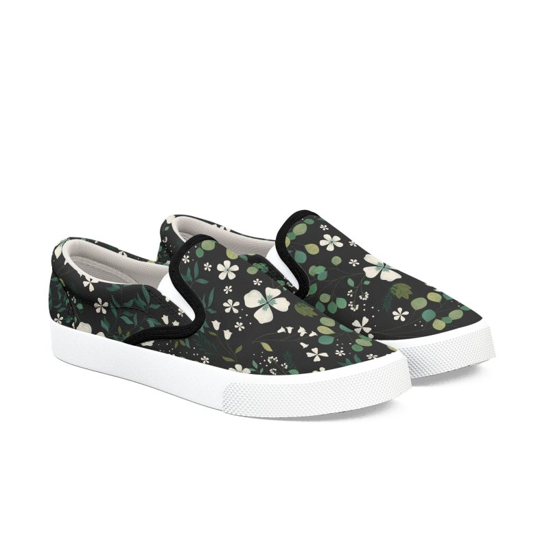 Eucalyptus Women's Slip-On Shoes by carlywatts's Shop