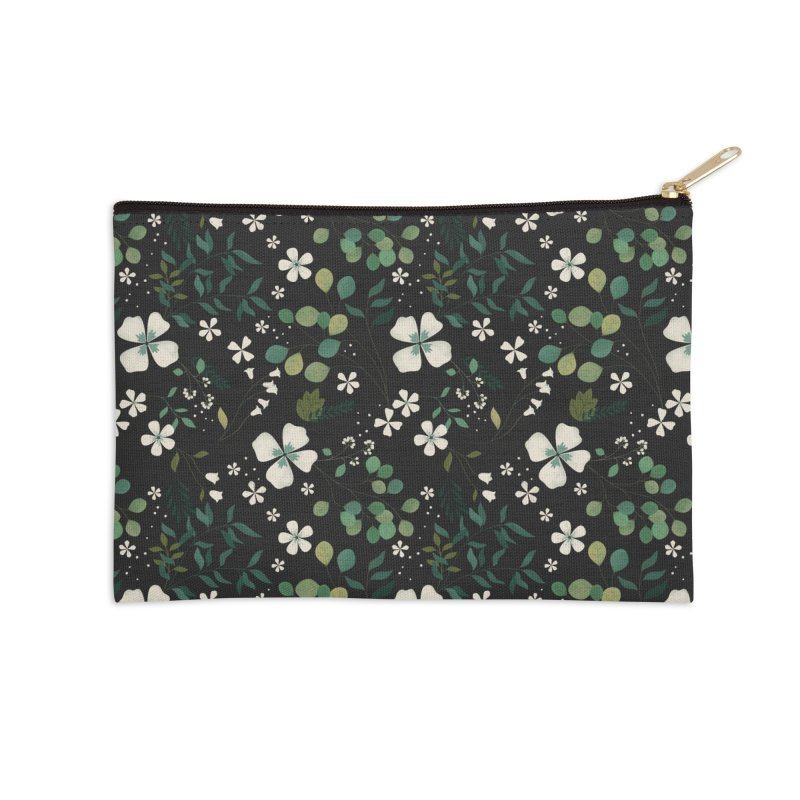 Eucalyptus Accessories Zip Pouch by carlywatts's Shop