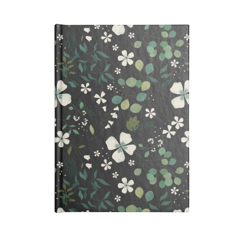 Eucalyptus Accessories Blank Journal Notebook by carlywatts's Shop