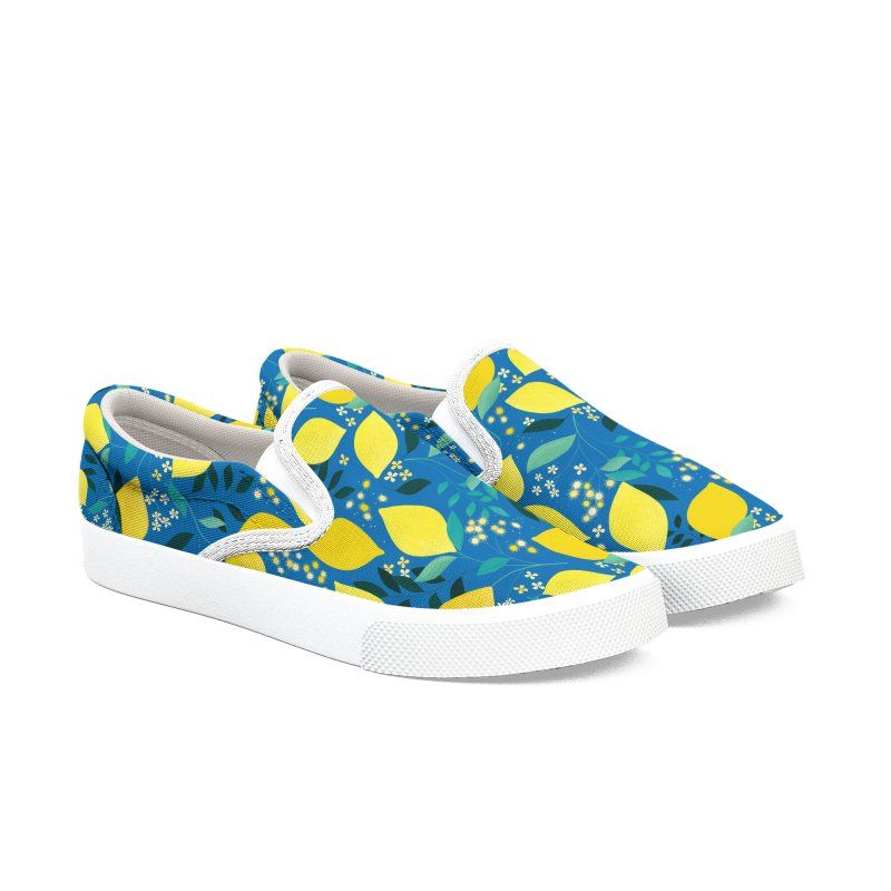 Lemonade Women's Slip-On Shoes by carlywatts's Shop