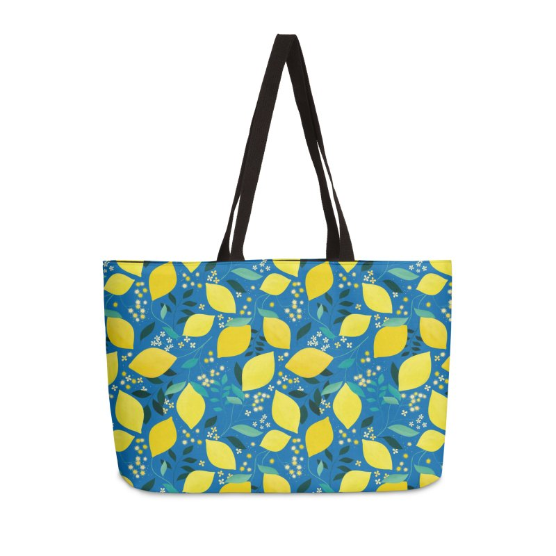 Lemonade Accessories Weekender Bag Bag by carlywatts's Shop