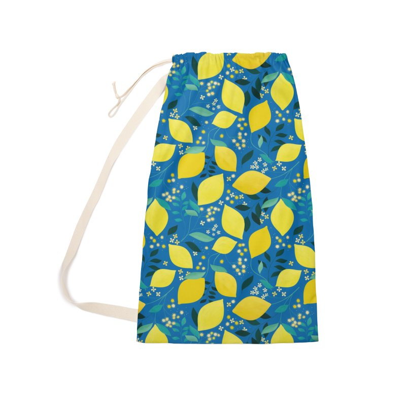 Lemonade Accessories Laundry Bag Bag by carlywatts's Shop