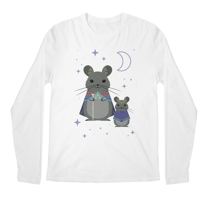 Chinchilla Mage Men's Longsleeve T-Shirt by carlywatts's Shop