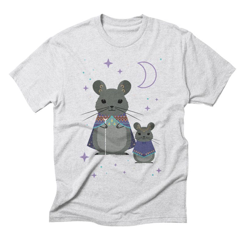 Chinchilla Mage Men's Triblend T-shirt by carlywatts's Shop