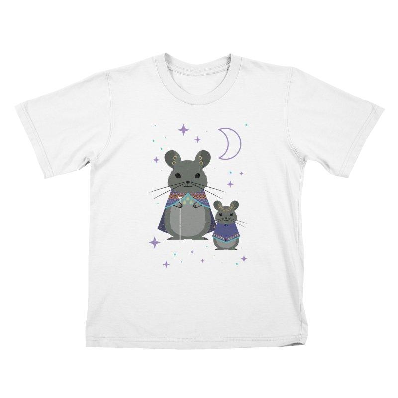 Chinchilla Mage Kids T-Shirt by carlywatts's Shop