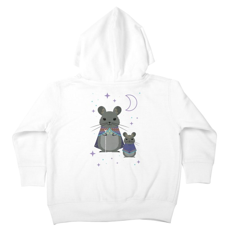 Chinchilla Mage Kids Toddler Zip-Up Hoody by carlywatts's Shop