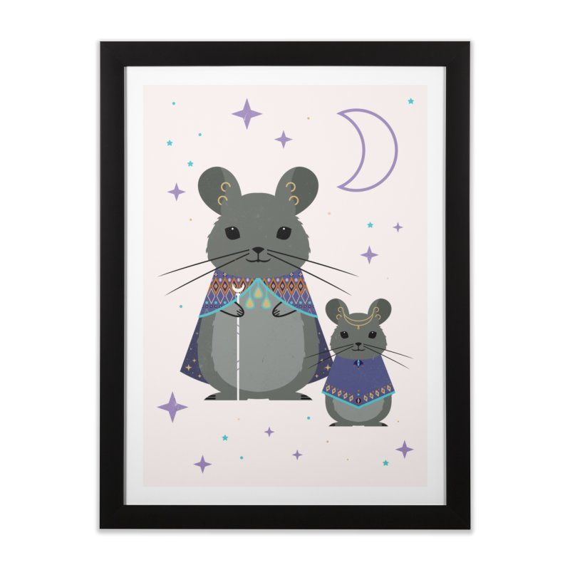 Chinchilla Mage Home Framed Fine Art Print by carlywatts's Shop