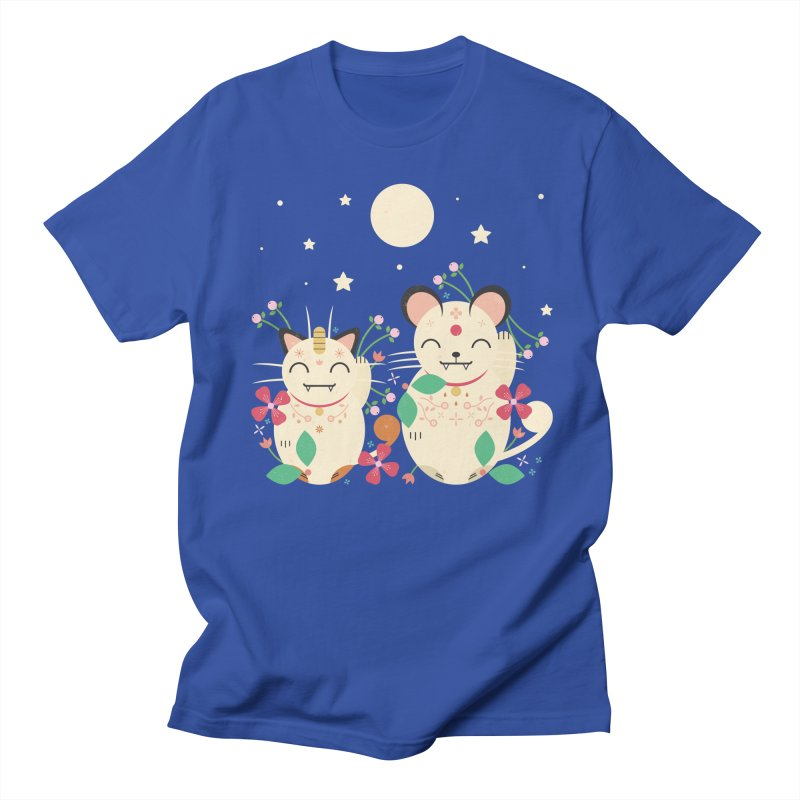 Lucky Cats  Women's Unisex T-Shirt by carlywatts's Shop