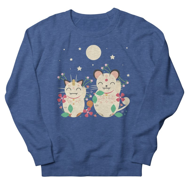 Lucky Cats  Women's Sweatshirt by carlywatts's Shop