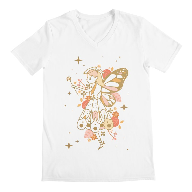 Mercy Monarch  Men's V-Neck by carlywatts's Shop