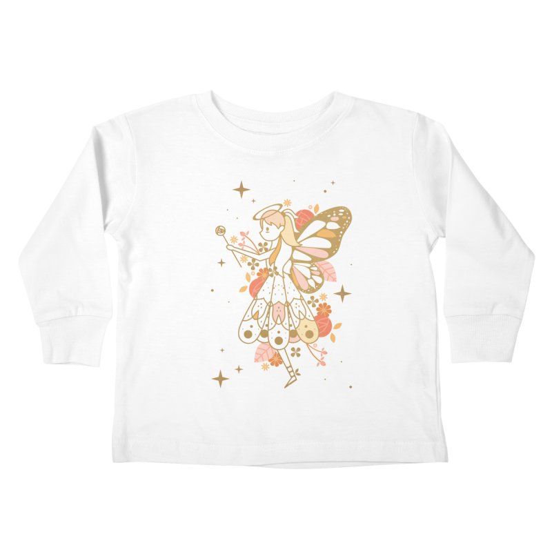Mercy Monarch  Kids Toddler Longsleeve T-Shirt by carlywatts's Shop