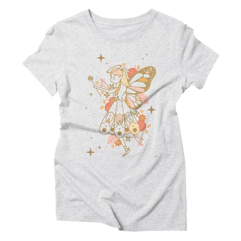 Mercy Monarch  Women's Triblend T-shirt by carlywatts's Shop