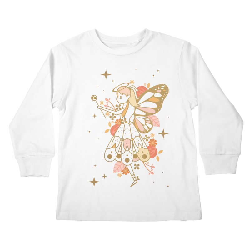 Mercy Monarch  Kids Longsleeve T-Shirt by carlywatts's Shop
