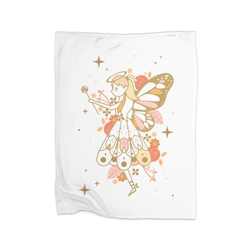 Mercy Monarch  Home Blanket by carlywatts's Shop