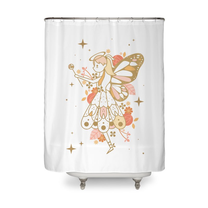 Mercy Monarch  Home Shower Curtain by carlywatts's Shop