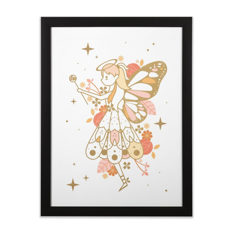 Mercy Monarch  Home Framed Fine Art Print by carlywatts's Shop