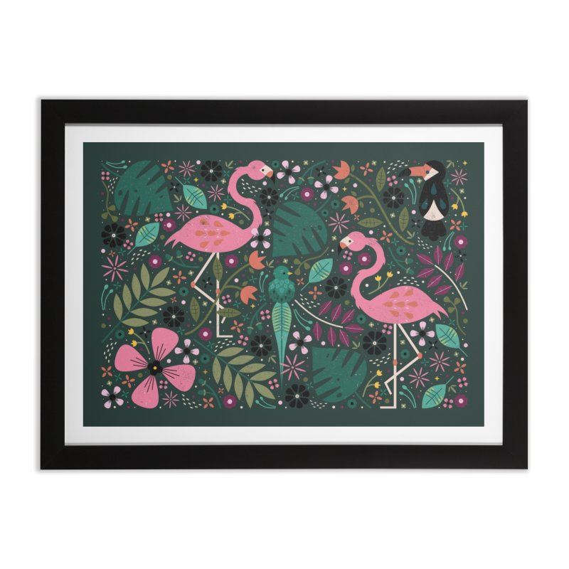 Spirit of the Jungle  Home Framed Fine Art Print by carlywatts's Shop