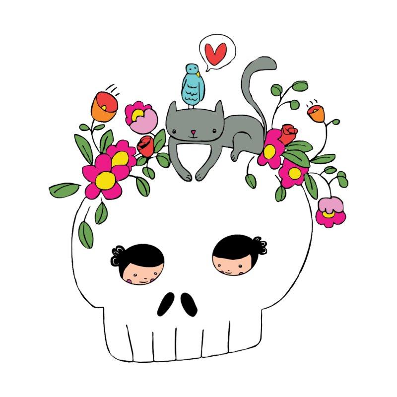 Cat Skull by carole epp