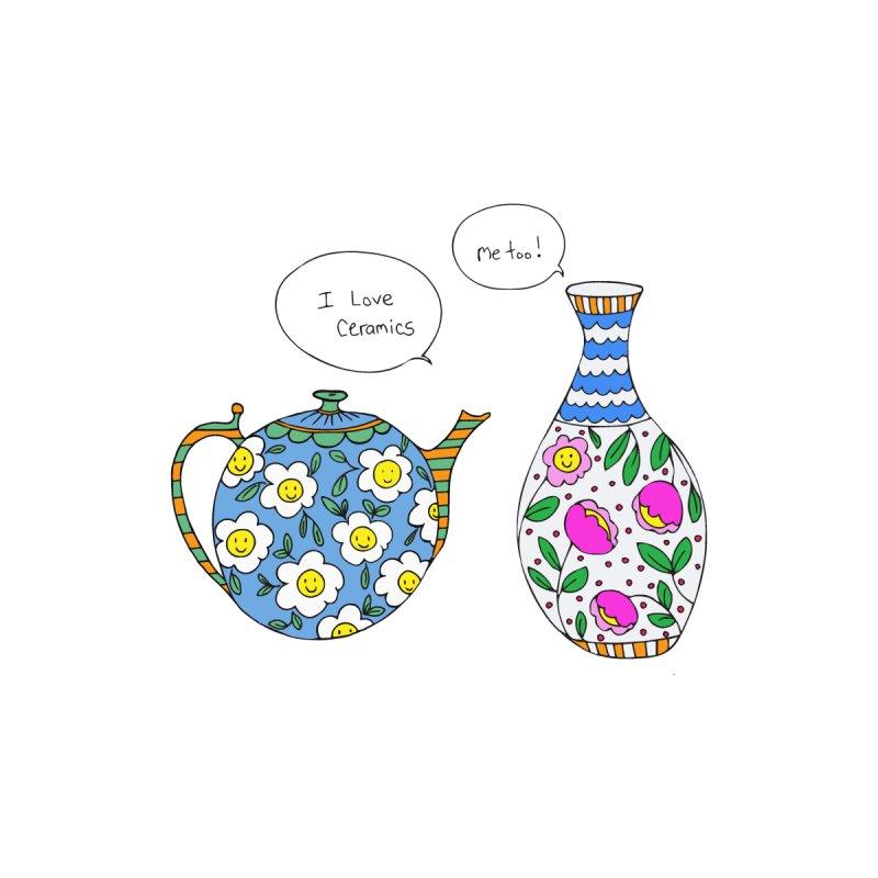 i love ceramics multi-color by carole epp