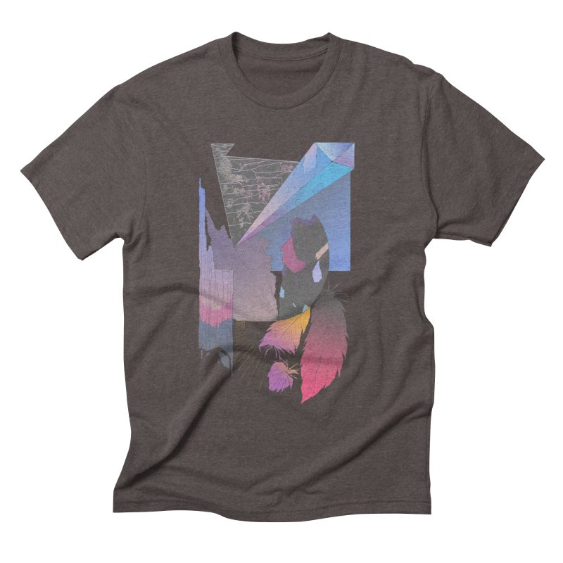 Night Formation Men's Triblend T-shirt by Solocity