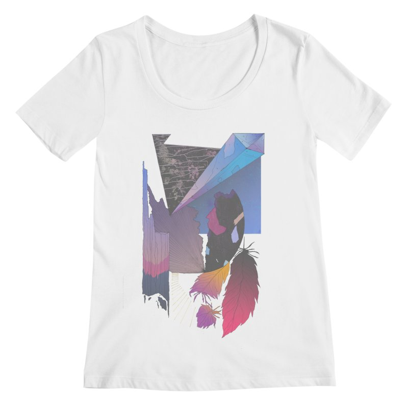 Night Formation Women's Scoopneck by Solocity