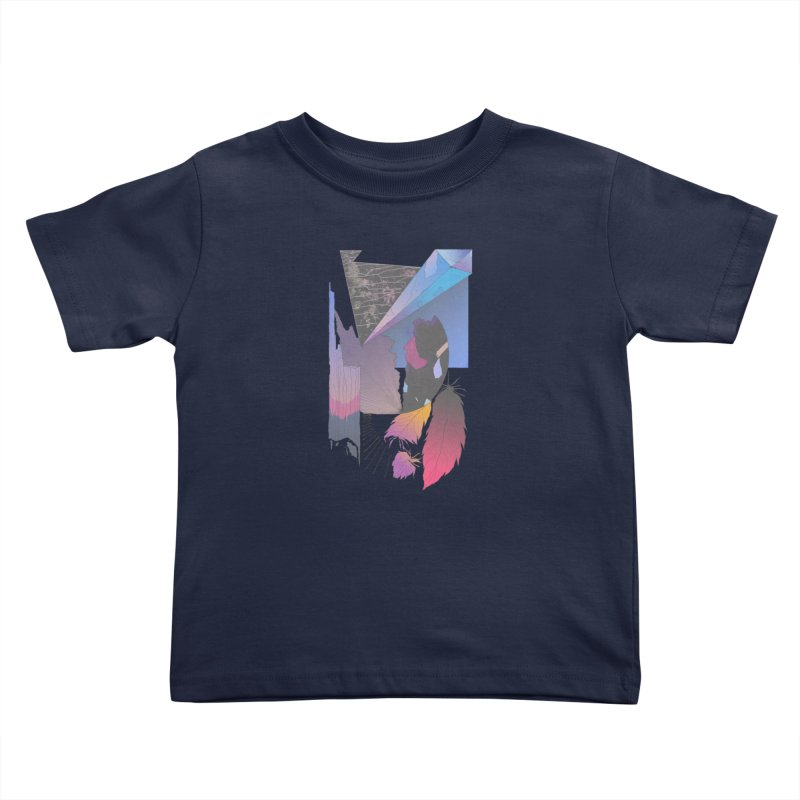 Night Formation Kids Toddler T-Shirt by Solocity