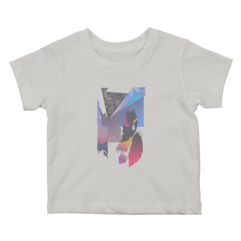 Night Formation Kids Baby T-Shirt by Solocity
