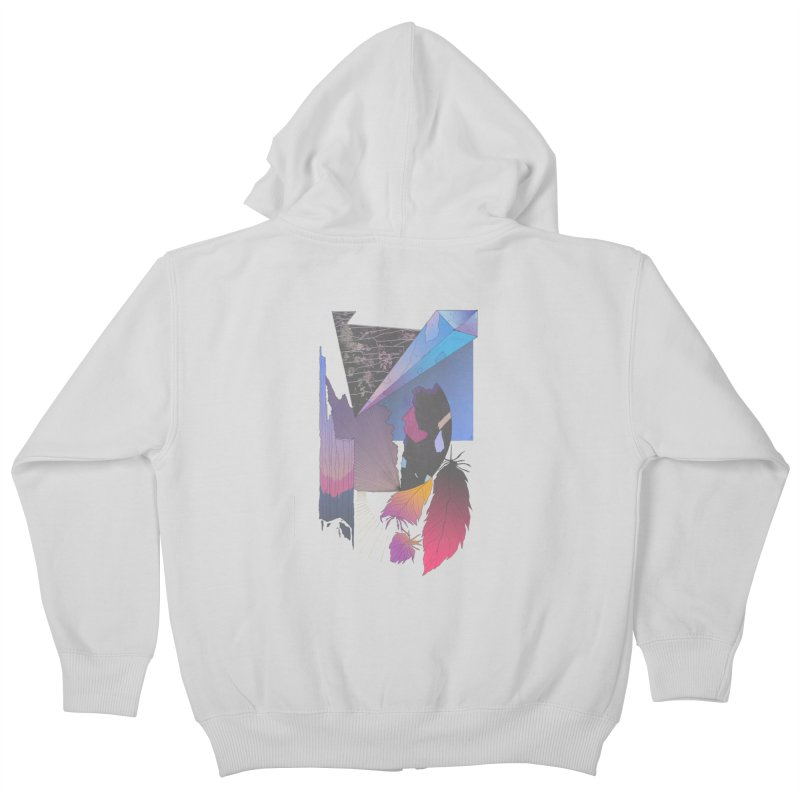 Night Formation Kids Zip-Up Hoody by Solocity