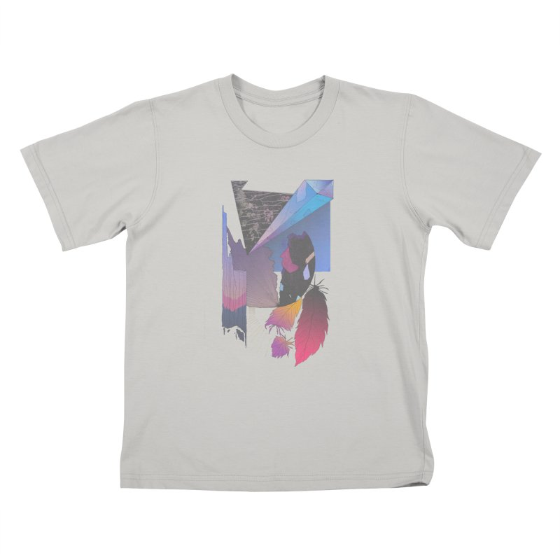 Night Formation Kids T-shirt by Solocity