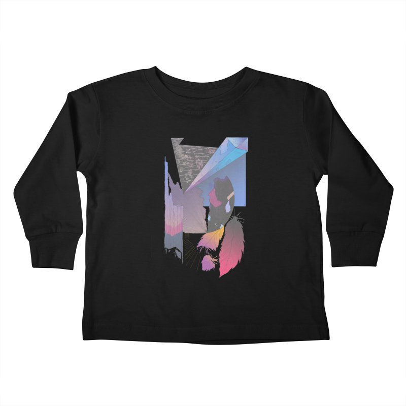 Night Formation Kids Toddler Longsleeve T-Shirt by Solocity