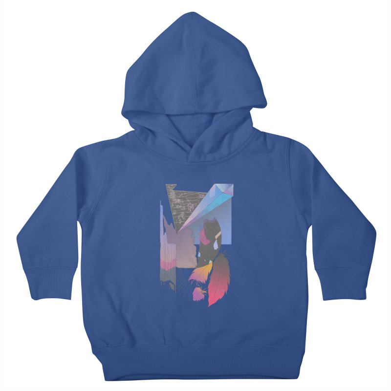 Night Formation Kids Toddler Pullover Hoody by Solocity