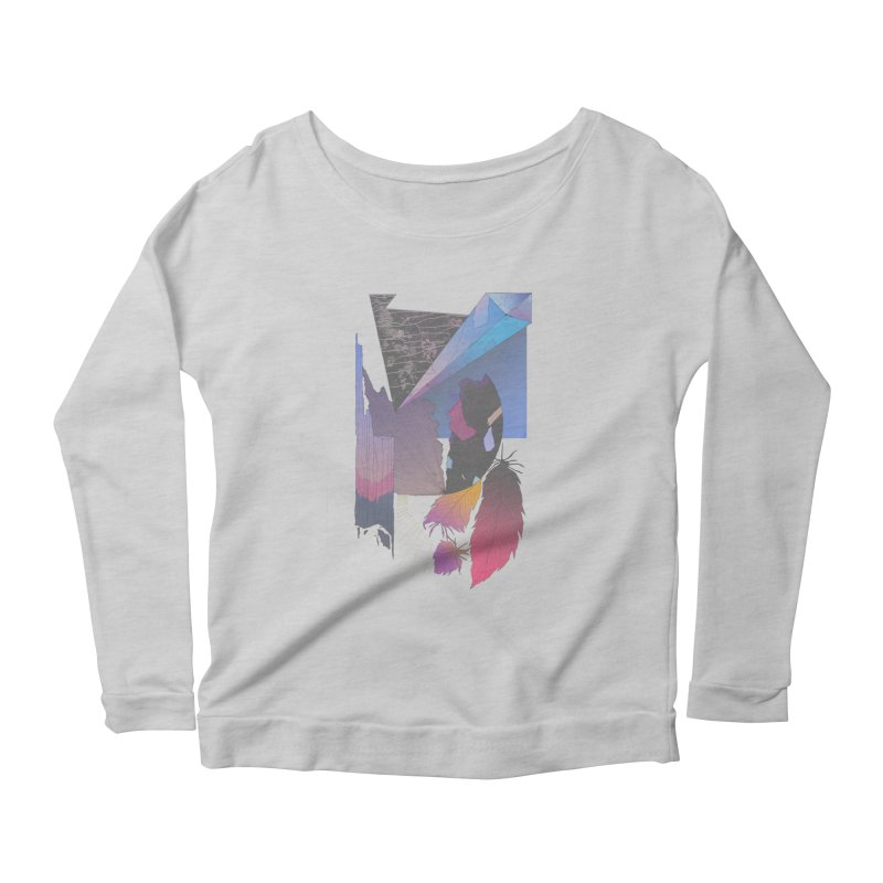 Night Formation Women's Longsleeve Scoopneck  by Solocity