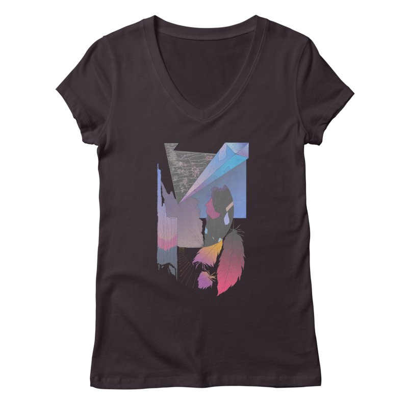 Night Formation Women's V-Neck by Solocity