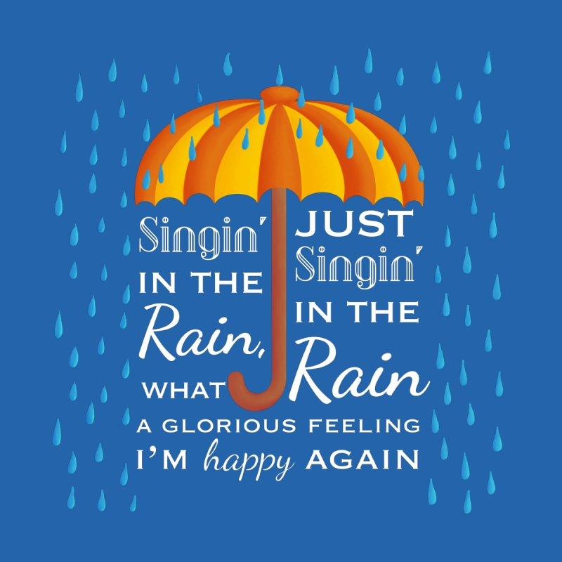 Singin' in the Rain Men's T-Shirt by carolyn sehgal's Artist Shop