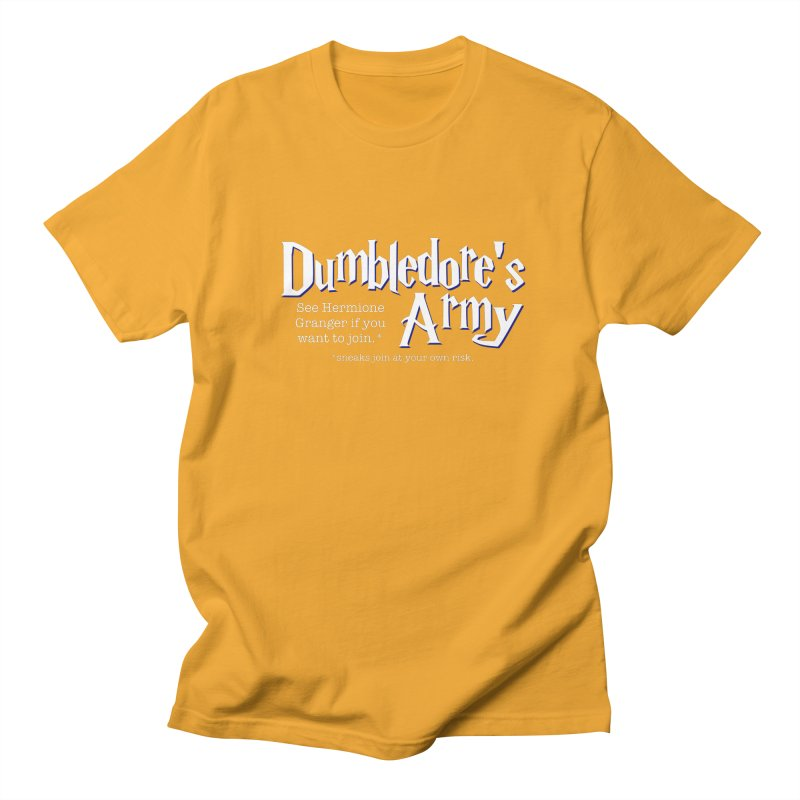 Dumbledore's Army Men's T-Shirt by carolyn sehgal's Artist Shop