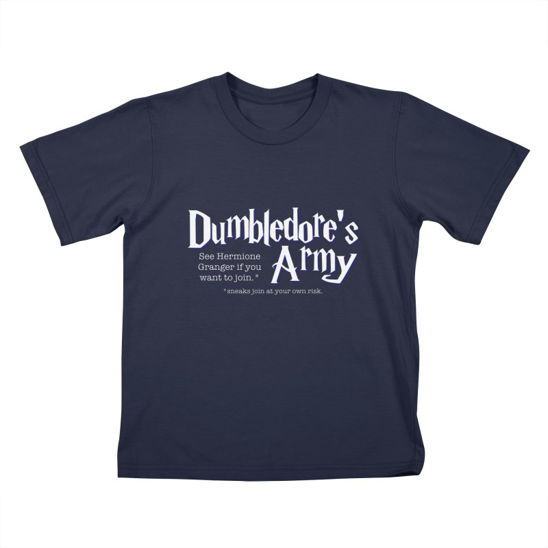 Dumbledore's Army Kids T-Shirt by carolyn sehgal's Artist Shop