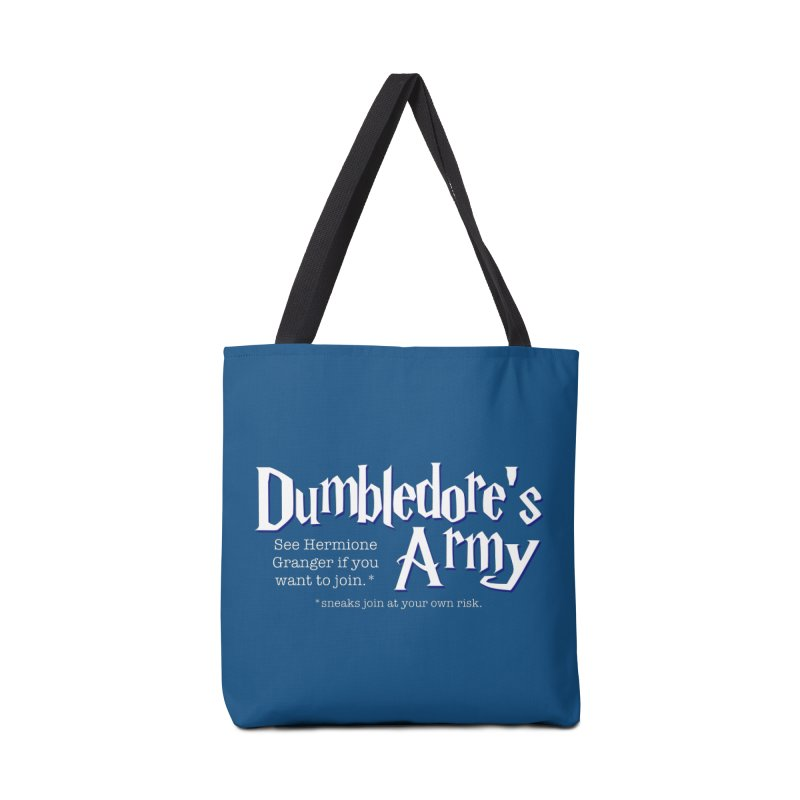 Dumbledore's Army Accessories Bag by carolyn sehgal's Artist Shop