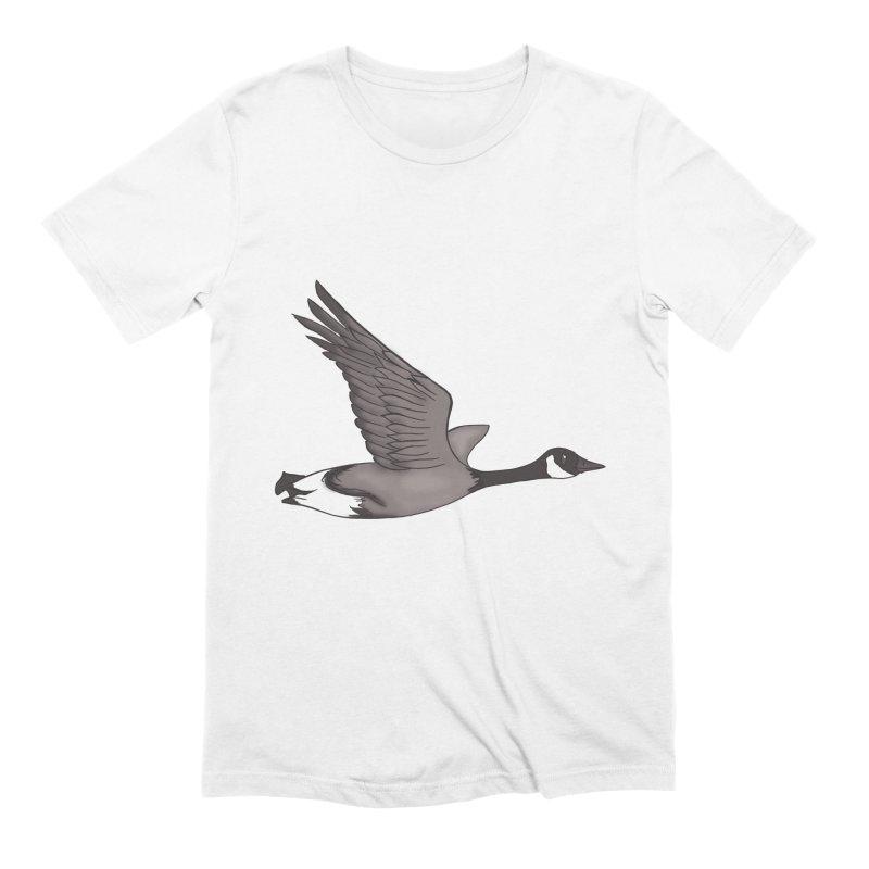Goose Men's T-Shirt by carolyn sehgal's Artist Shop
