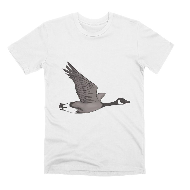 Goose Men's T-Shirt by carolyn sehgal's Artist Shop